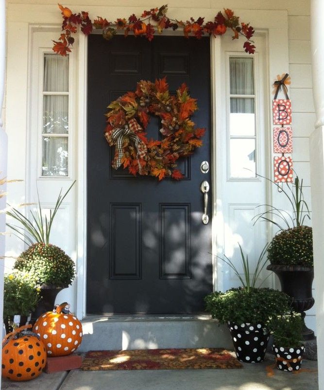 My fall front porch decorations craft ideas pinterest for Front porch fall decor