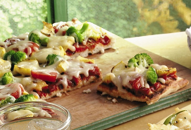 Grilled Fresh Vegetable Pizza | Pies, pizza, sandwiches, wraps | Pint ...