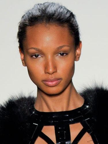 Natural Look - Herve Leger  New York Fashion Week Fall/Winter 2012 Runway Show