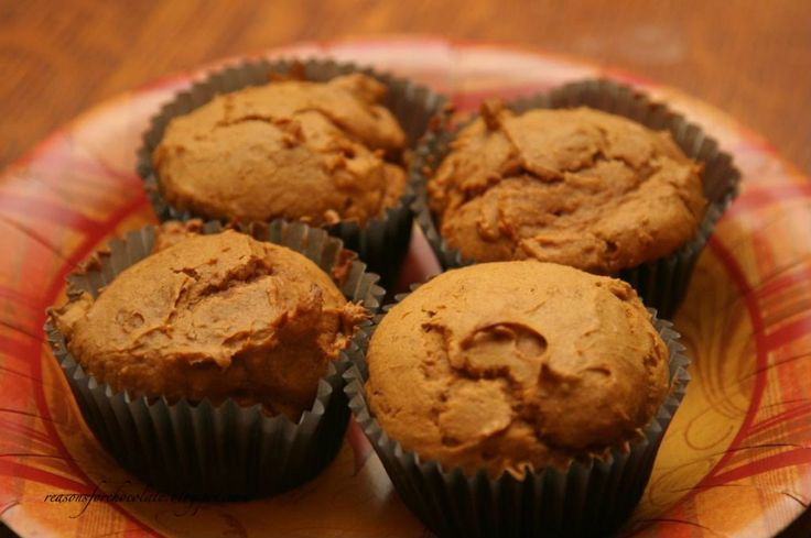 Pumpkin Muffins - easy!! | My Sweet Tooth! | Pinterest