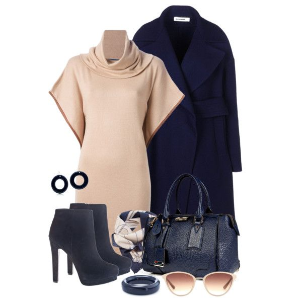 Blue & Nude, created by simona-risi on Polyvore