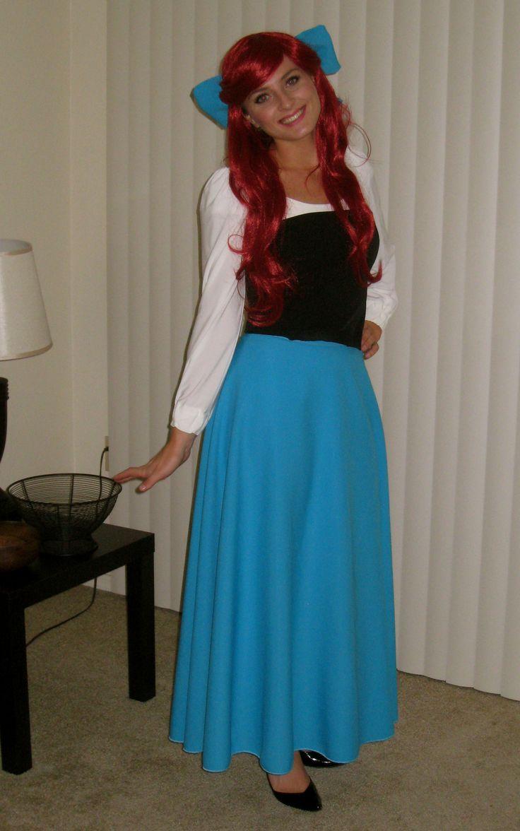 Ariel costume halloweenie pinterest