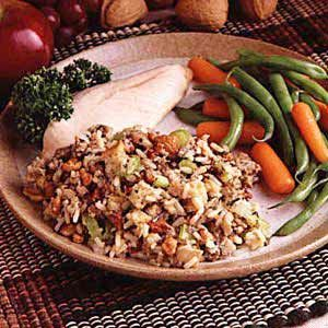Nelda's Sausage and Rice Dressing This is a tried and true recipie ...
