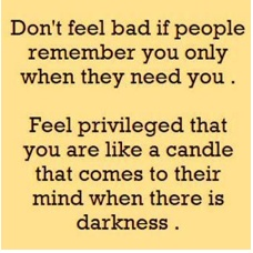 you are like a candle