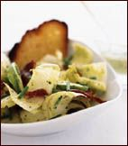 Endive and Bacon Salad with Avocado Dressing Recipe on Food & Wine