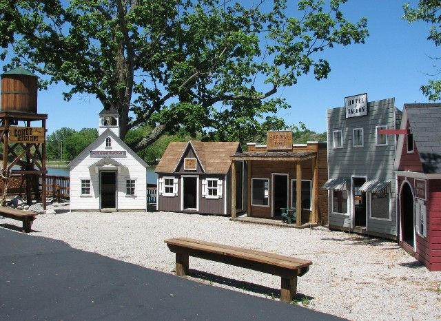 old west town playhouses sheds more pinterest