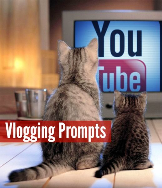 Vlogging Prompts:  1.) Free Day! Link up any video you haven't previously shared in a Vlogging Workshop. 2.) What are your kids really into right now? 3.) Ma...