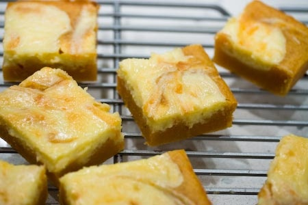 cheesecake sweeties - sweet potato/cheesecake bars. so amazing.