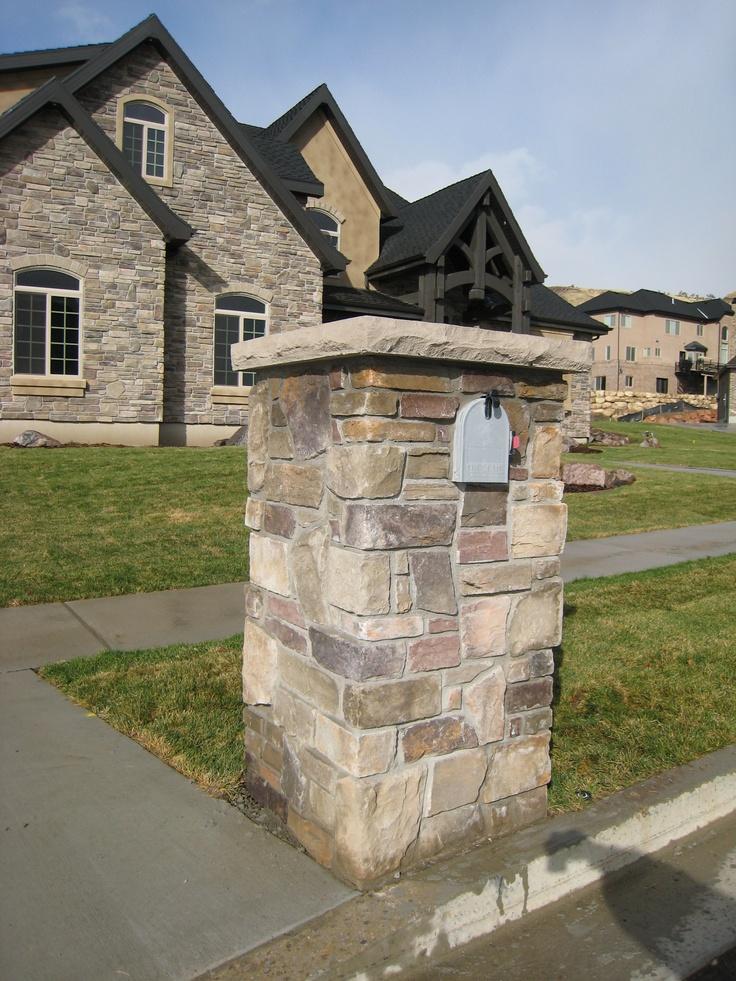 stone mailbox hhdu mailbox designs pinterest