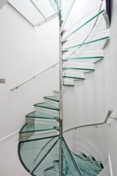 Escalier en colimaçon contemporain  Interior design  Pinterest
