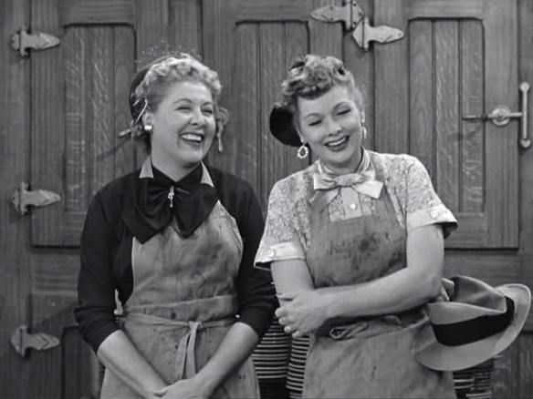 Lucy And Ethel My Obsession With I Love Lucy Pinterest