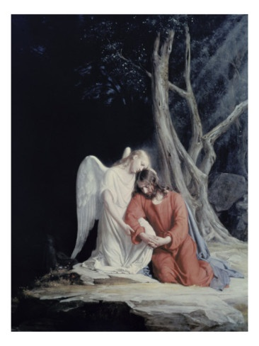 Agony In The Garden By Carl Bloch Angels Pinterest