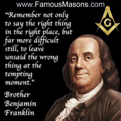 Famous Quotes About Freemasonry Quotesgram