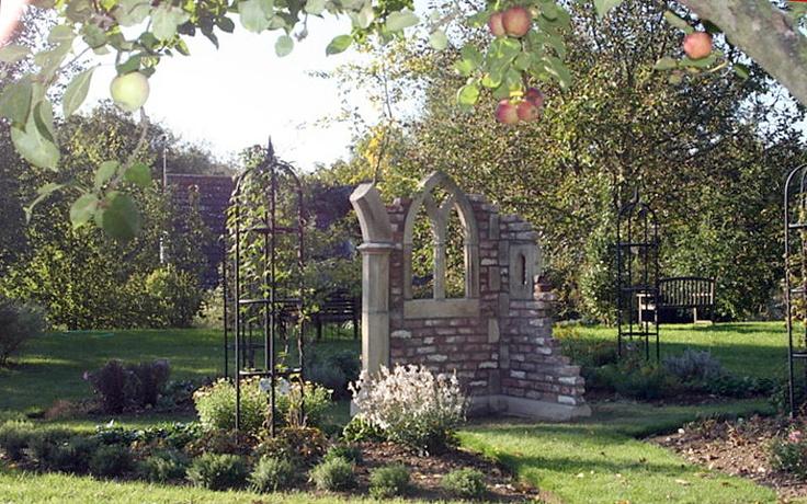 Garden folly english folly pinterest for Garden folly designs