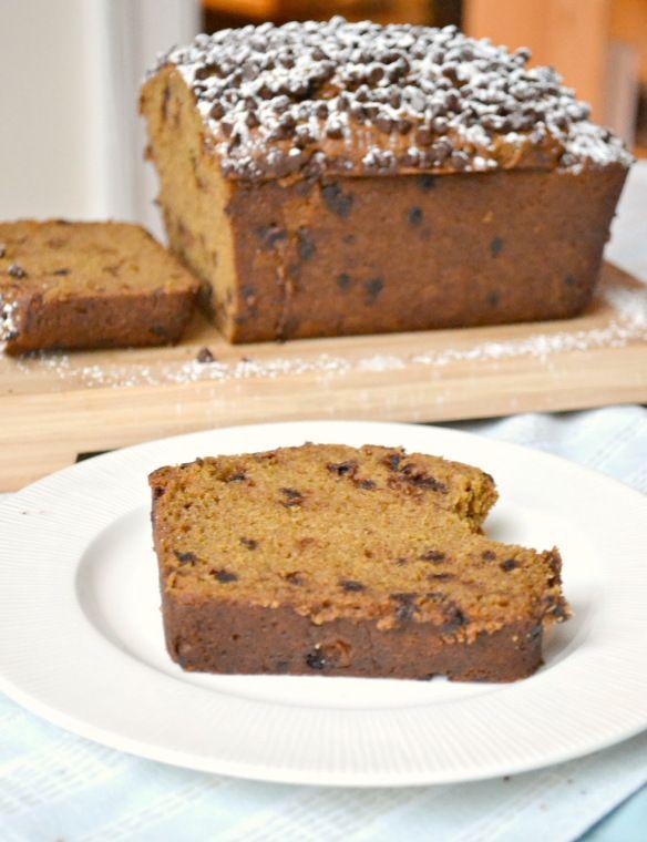 Chocolate Chip Pumpkin Bread | Dessert ideas | Pinterest