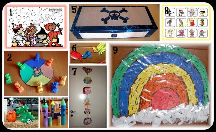 giochi e lavoretti di carnevale per bambini