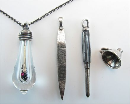 Lightkeeper necklace  James Banks Design