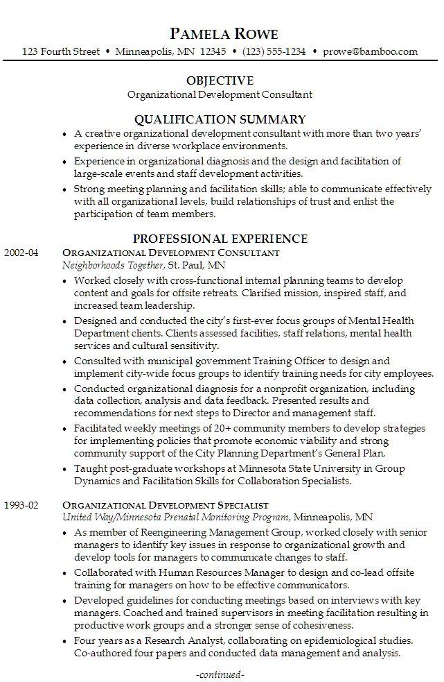Resume For Volunteer Work