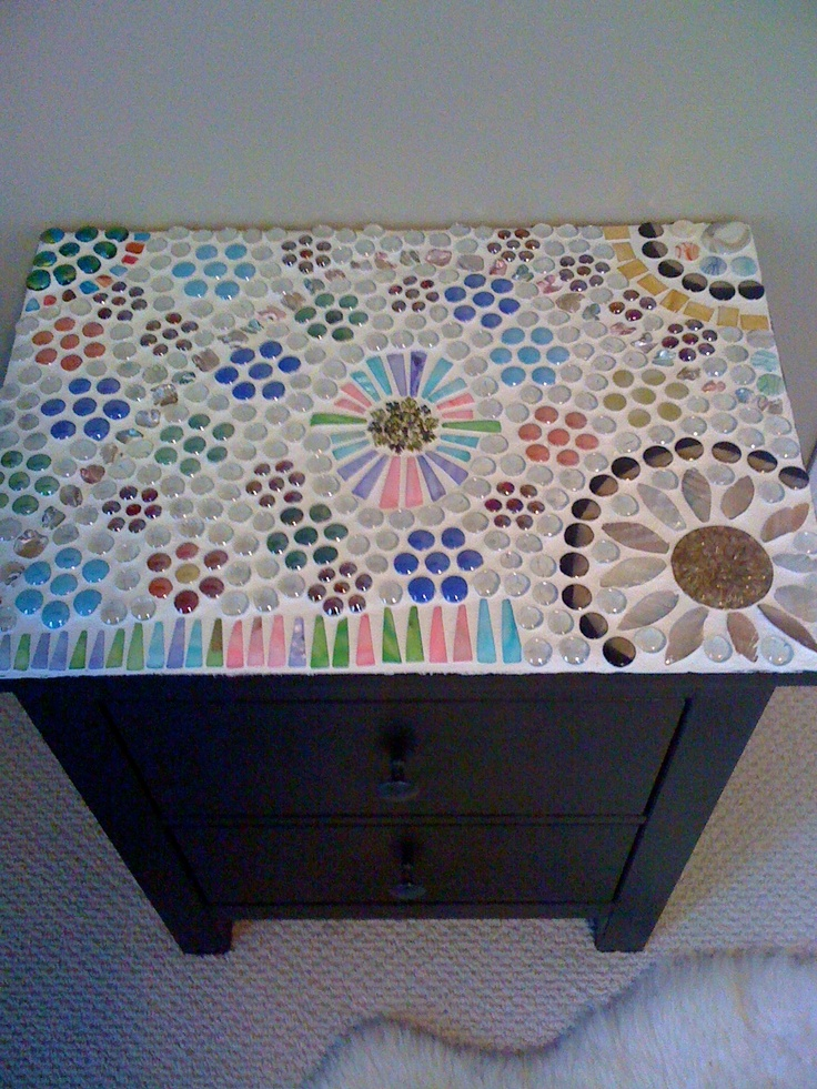 Mosaic Night Stand