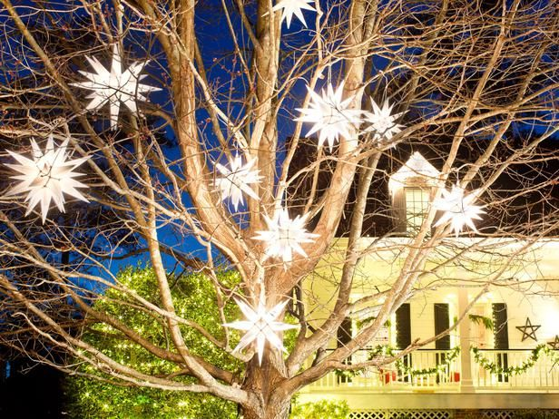 Magical Moravian Stars - Dress Up Trees With Moravian Stars on HGTV