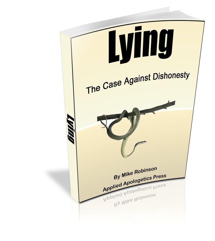 essay on lying