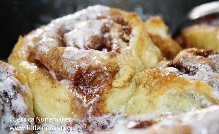 no yeast no rise cinnamon rolls | Breakfast? What's that? | Pinterest