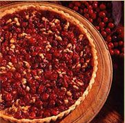 Cranberry Walnut Pie | Thanksgiving | Pinterest