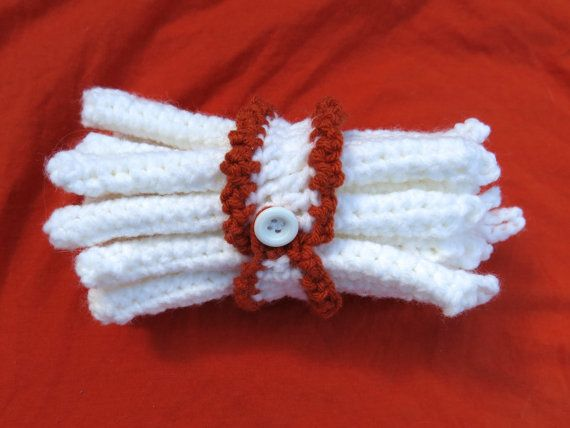 Crochet Hair Rollers : Set of 15 Crochet Hair Curlers by SensibleCrafts on Etsy, $14.99