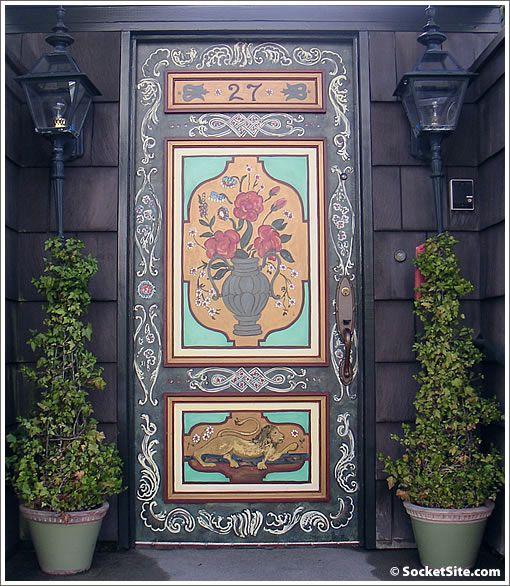 Doors ~ decorated