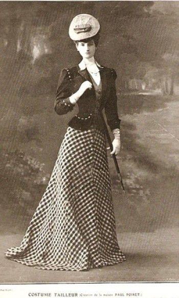 Designed by Paul Poiret ca 1905-1906