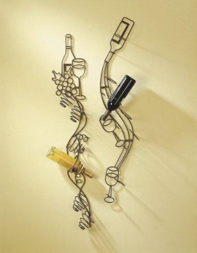 Wine Bottle Art Wall Rack Home Decor Pinterest