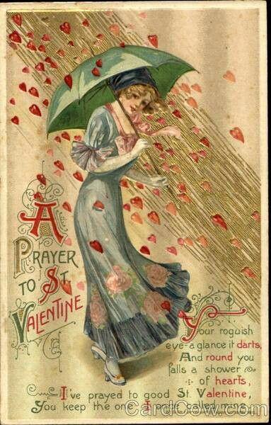 vintage valentine cards free printable