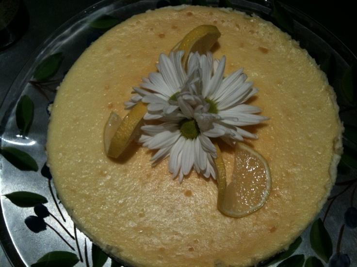 Lemon Ginger Cheesecake | Lemon-Lime Desserts | Pinterest