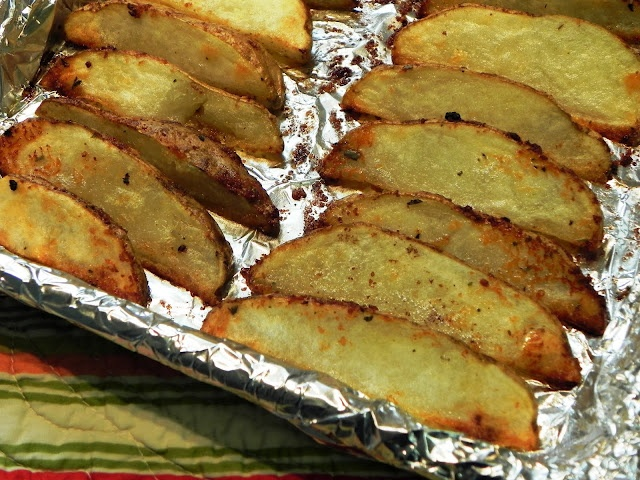 Parmesan Potato Wedges | Food-Recipes | Pinterest