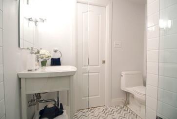 visgraat tegels marmer  badkamer  bathroom  salle de bain  baño ...