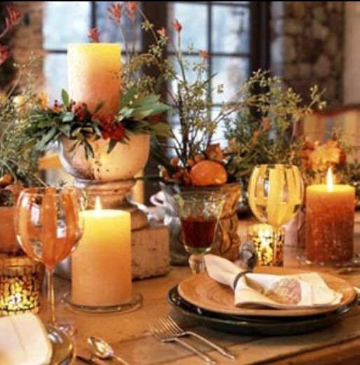Fall Tablescape Fall Decorating Ideas Pinterest