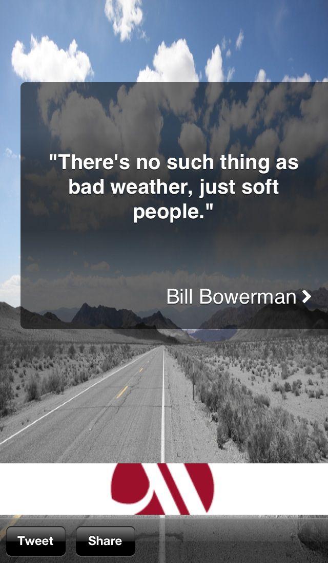 Running quote!