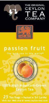 Passion Fruit Tea (25 Tea Bags), Ceylon Tea. Perfect flavor for iced ...