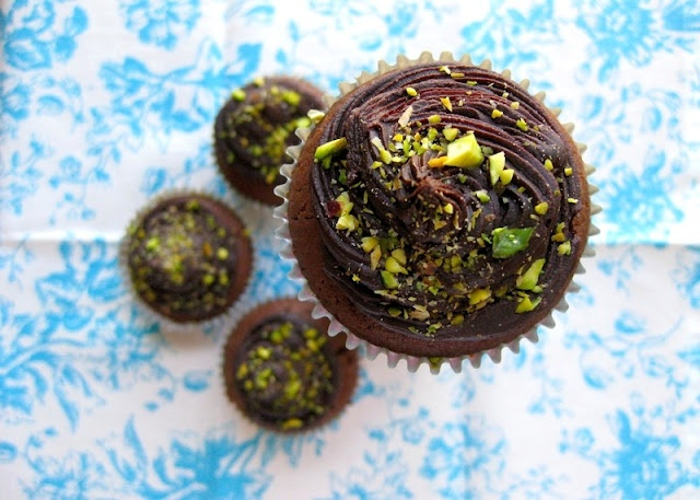 Dorie Greenspan's Double Chocolate Cupcakes Recipe — Dishmaps