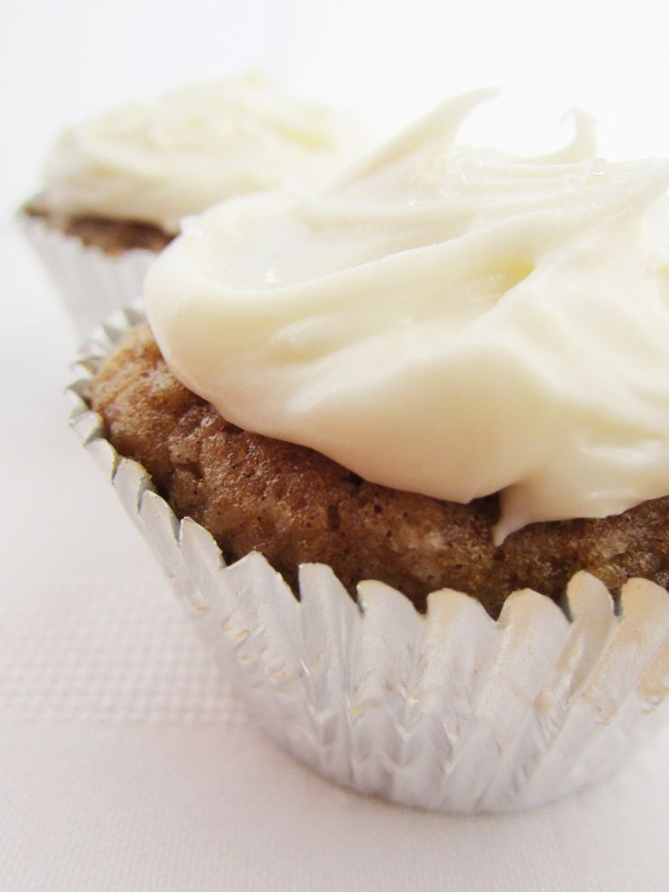 Vanilla & Spice Parsnip Cupcakes | Sweets :) | Pinterest