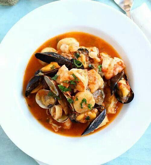 Ciopino, Italian seafood stew | Kulinary Gangsta | Pinterest