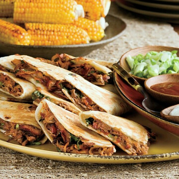 Pulled pork quesadillas | Cinco de Mayo | Pinterest