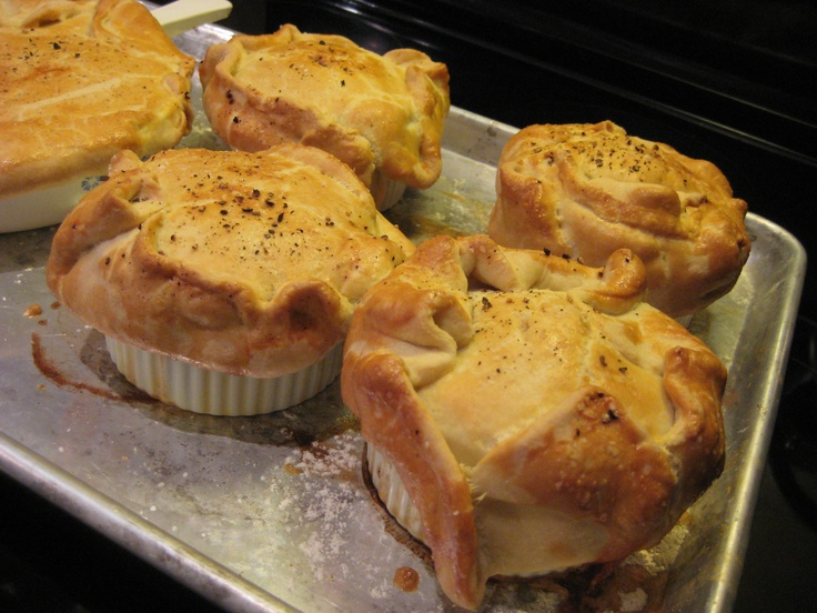 Chicken Pot Pie with Puff Pastry Crust | Puff Pastry CRUST | Pinterest