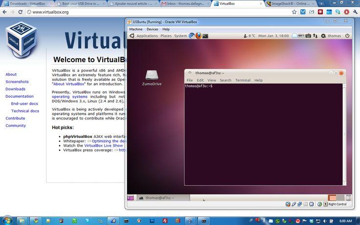 Linux dentro a Windows con Virtualbox