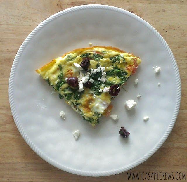 Greek Frittata | eats | Pinterest