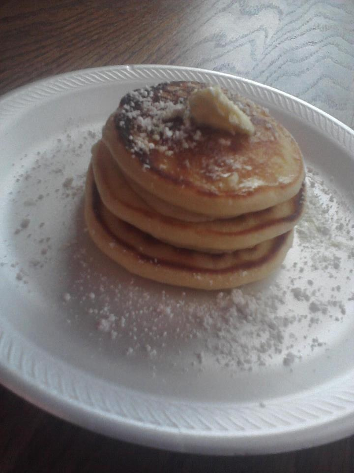 Homemade Pancakes made by me! :)