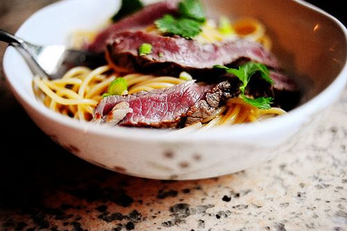... rice noodle soup with beef beef noodle salad bowls recipe yummly