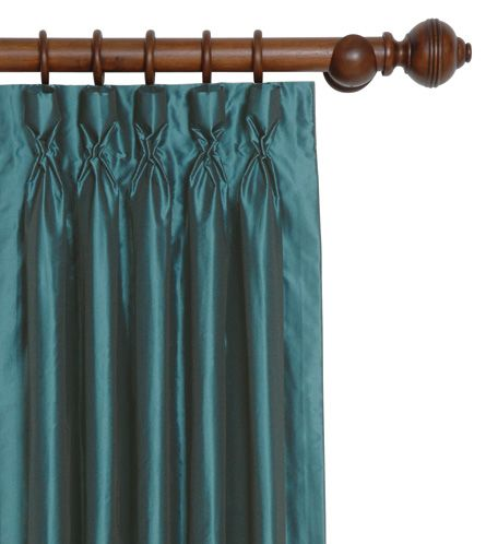 teal goblet pleat curtains living room ideas pinterest