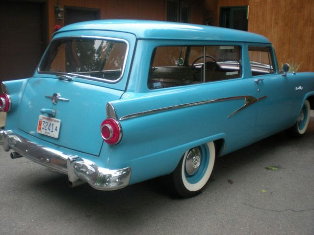 1956 ford 2 door ranch wagon ford pinterest for 1956 ford wagon 2 door