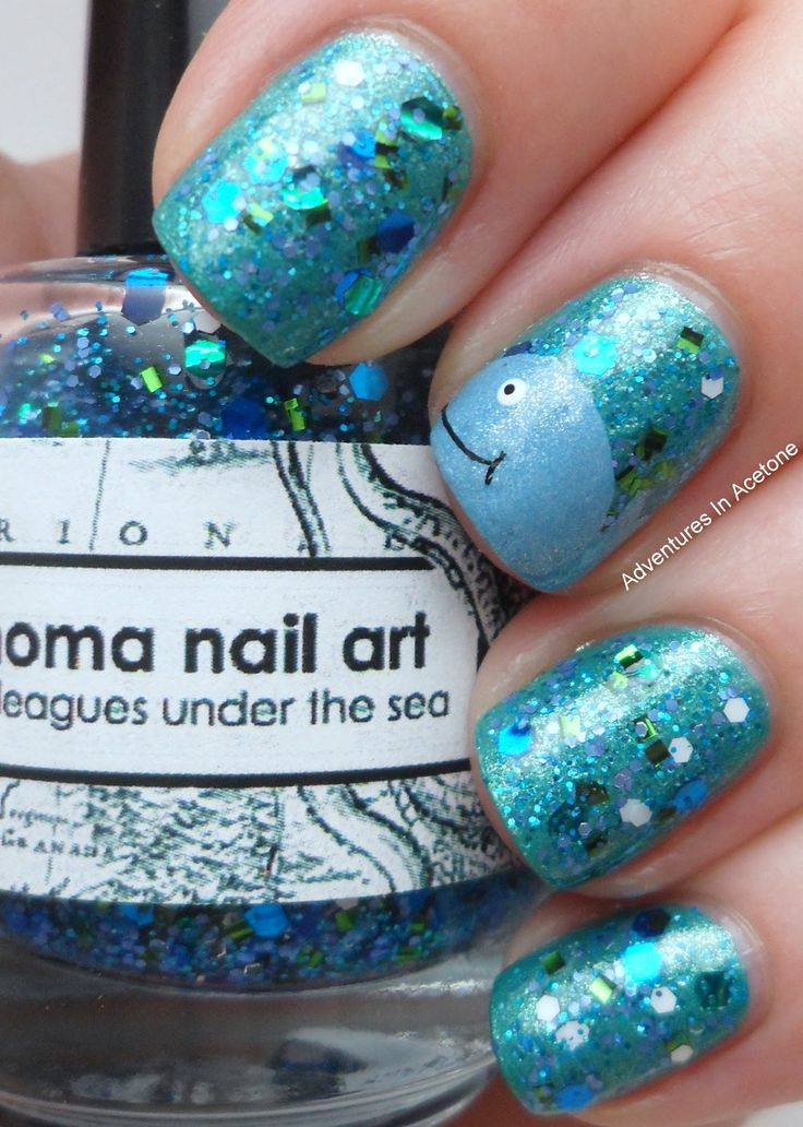 Adventures In Acetone: Whale Nails 20,000 Leagues Under The Sea!
